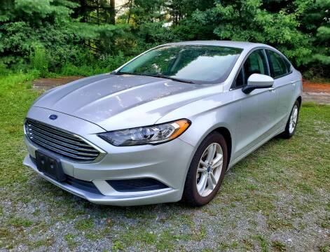 2018 Ford Fusion for sale at The Car Store in Milford MA