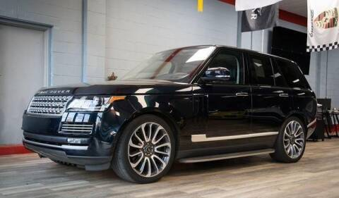 2016 Land Rover Range Rover for sale at The Car Store in Milford MA