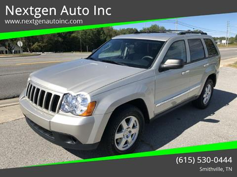 2010 Jeep Grand Cherokee for sale at Nextgen Auto Inc in Smithville TN