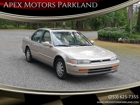 1993 Honda Accord for sale in Tacoma, WA
