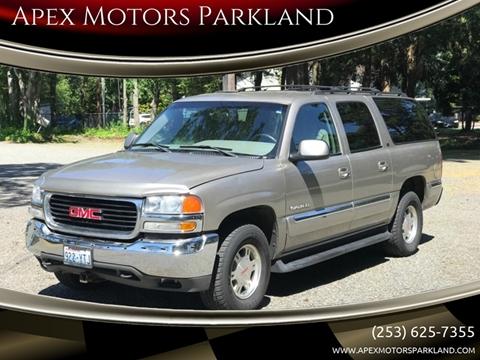 2002 GMC Yukon XL for sale in Tacoma, WA