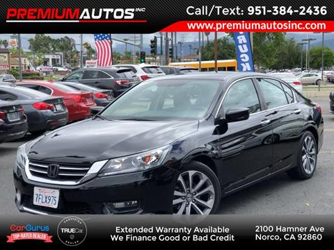 2014 Honda Accord for sale in Norco, CA
