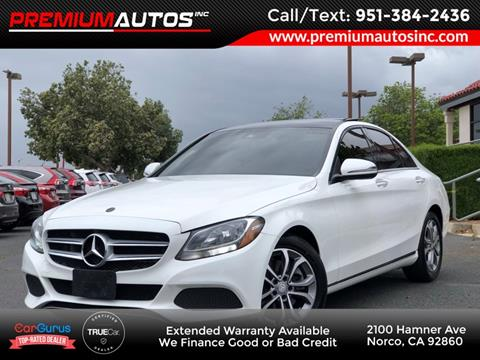 2016 Mercedes-Benz C-Class for sale in Norco, CA