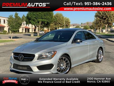 2016 Mercedes-Benz CLA for sale in Norco, CA