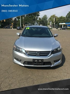 2014 Honda Accord for sale at Manchester Motors in Manchester CT
