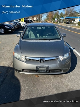 2008 Honda Civic for sale at Manchester Motors in Manchester CT