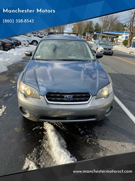 2005 Subaru Outback for sale at Manchester Motors in Manchester CT