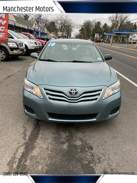 2010 Toyota Camry for sale at Manchester Motors in Manchester CT