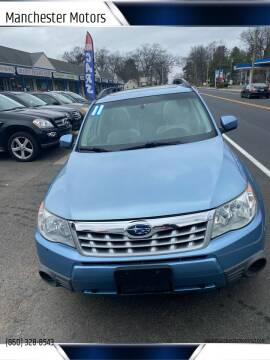 2011 Subaru Forester for sale at Manchester Motors in Manchester CT
