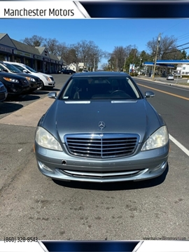 2008 Mercedes-Benz S-Class for sale at Manchester Motors in Manchester CT