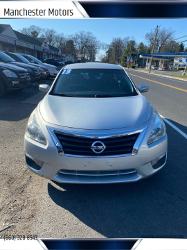 2013 Nissan Altima for sale at Manchester Motors in Manchester CT