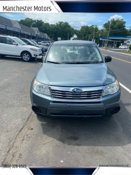 2009 Subaru Forester for sale at Manchester Motors in Manchester CT