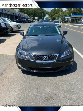 2008 Lexus IS 250 for sale at Manchester Motors in Manchester CT
