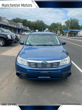 2010 Subaru Forester for sale at Manchester Motors in Manchester CT