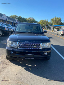 2008 Land Rover Range Rover Sport for sale at Manchester Motors in Manchester CT