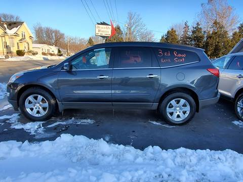 2012 Chevrolet Traverse LT for sale at Deals on Wheels in Oshkosh WI