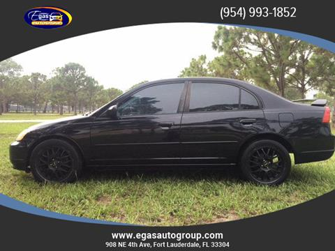 2003 Honda Civic for sale in Fort Lauderdale, FL