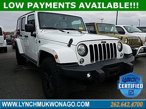 2017 Jeep Wrangler Unlimited for sale in East Troy, WI