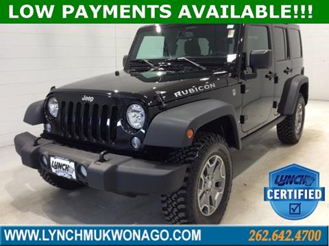 2018 Jeep Wrangler Unlimited for sale in East Troy, WI