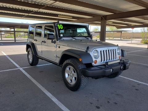 2010 Jeep Wrangler Unlimited for sale in Tempe, AZ