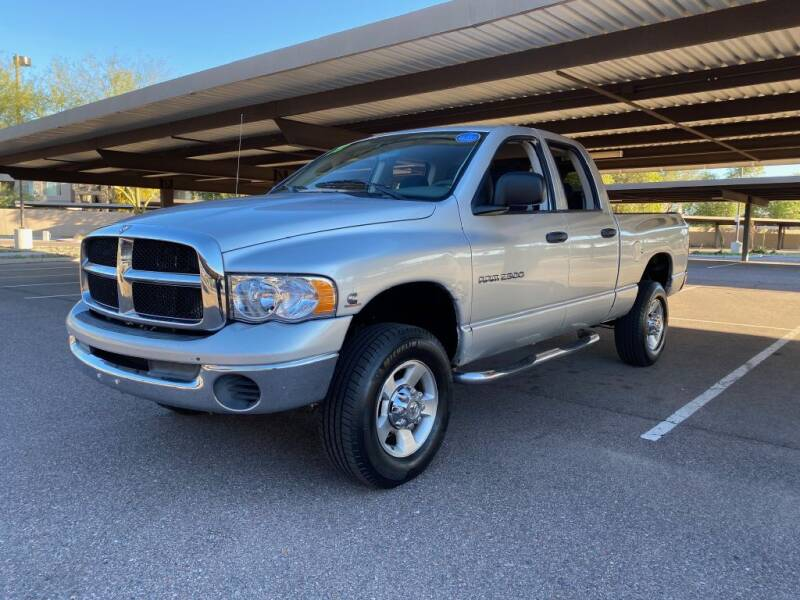 2003 Dodge Ram Pickup 2500 for sale at Simply Automotive Sales and Service in Tempe AZ