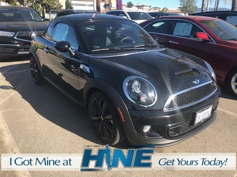 2013 MINI Coupe for sale in Temecula, CA