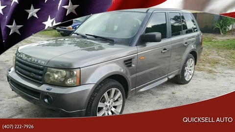 2008 Land Rover Range Rover Sport for sale in Longwood, FL