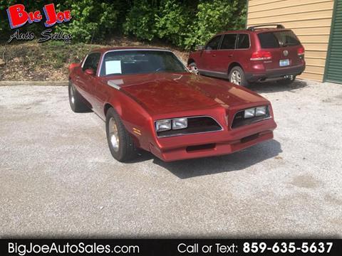 1977 Pontiac Firebird for sale in Alexandria, KY