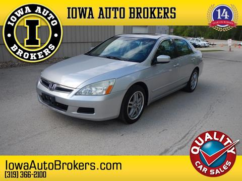 2007 Honda Accord for sale in Marion, IA