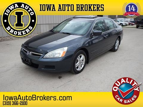 2006 Honda Accord for sale in Marion, IA