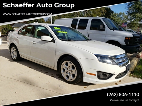 2011 Ford Fusion for sale in Walworth, WI