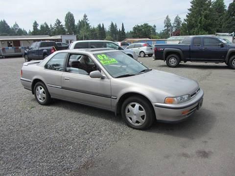 1992 Honda Accord for sale in Olympia, WA