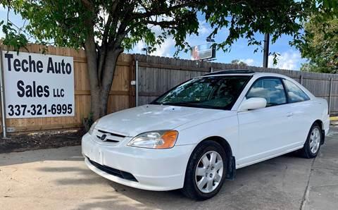 2002 Honda Civic for sale in New Iberia, LA