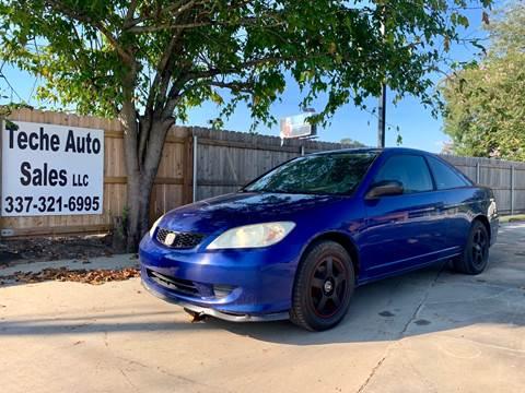 2004 Honda Civic for sale in New Iberia, LA