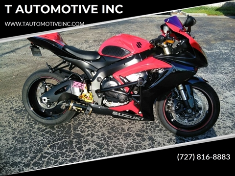 2006 Suzuki GSX-R600 for sale in New Port Richey, FL