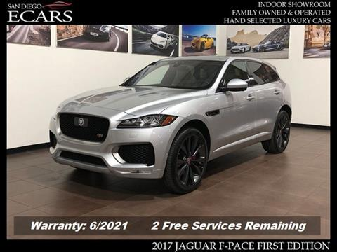 2017 Jaguar F-PACE for sale in San Diego, CA
