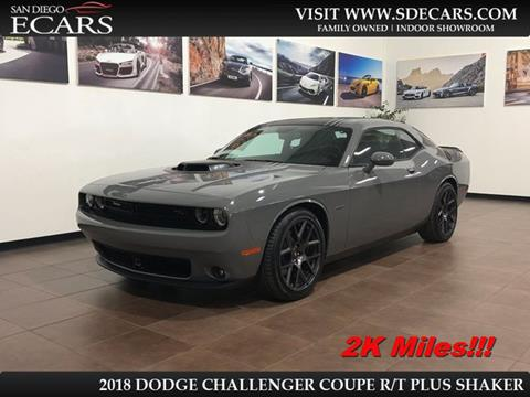 2018 Dodge Challenger for sale in San Diego, CA