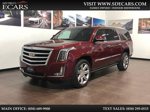 2016 Cadillac Escalade ESV for sale in San Diego, CA