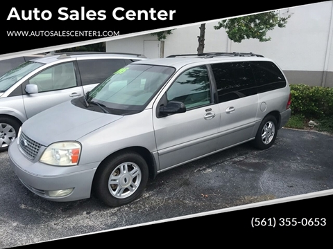 2004 Ford Freestar for sale in West Palm Beach, FL
