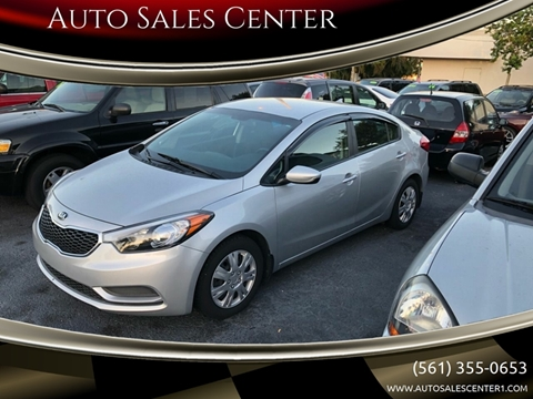 2016 Kia Forte LX for sale at Auto Sales Center in West Palm Beach FL