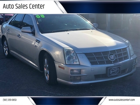 2008 Cadillac STS V6 for sale at Auto Sales Center in West Palm Beach FL