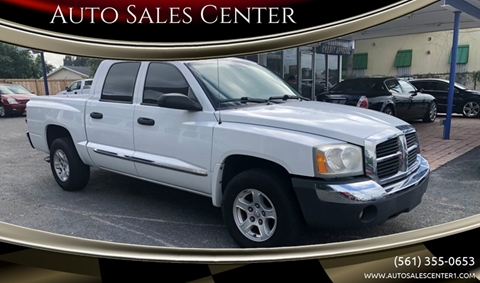 2005 Dodge Dakota SLT for sale at Auto Sales Center in West Palm Beach FL