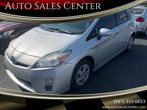 2011 Toyota Prius Four for sale at Auto Sales Center in West Palm Beach FL