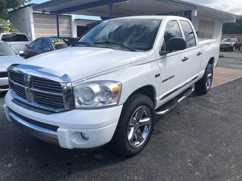 2007 Dodge Ram Pickup 1500 Laramie for sale at Auto Sales Center in West Palm Beach FL