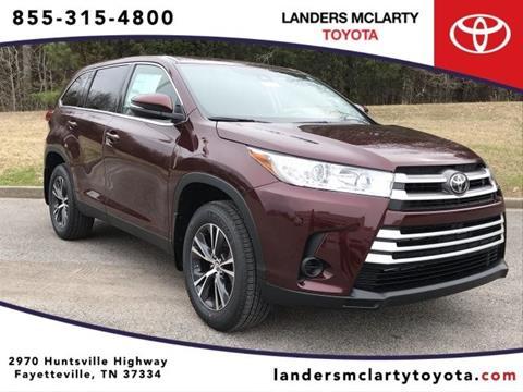 2019 Toyota Highlander for sale in Fayetteville, TN