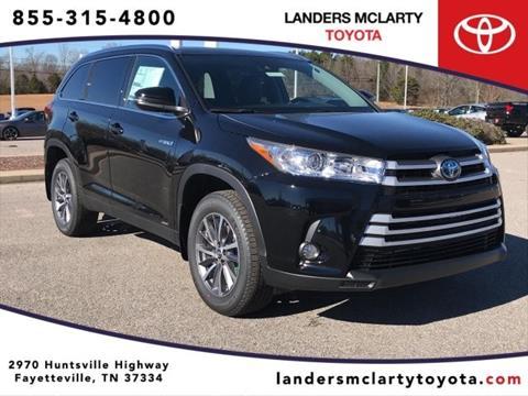 2019 Toyota Highlander Hybrid for sale in Fayetteville, TN