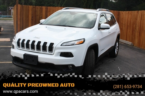 2017 Jeep Cherokee for sale in Houston, TX