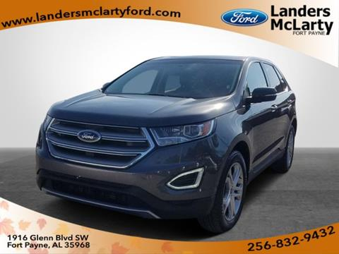 Landers Mclarty Ford >> 2017 Ford Edge For Sale In Fort Payne Al
