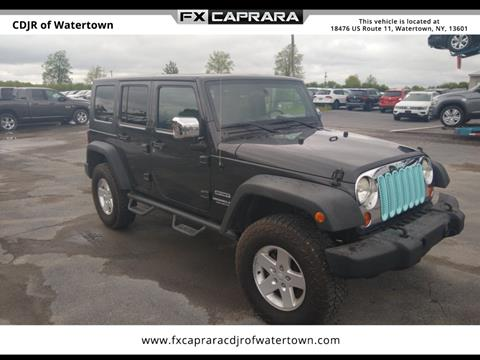 2010 Jeep Wrangler Unlimited for sale in Watertown, NY