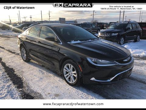 2016 Chrysler 200 for sale in Watertown, NY
